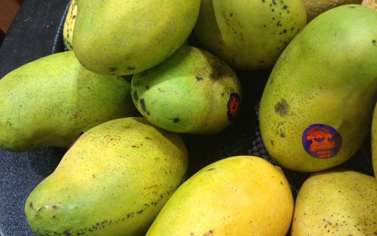 Pick A Mango By Its Smell And Feel A Ripe Mango Will Smell Exciting, And  Will Give When You Press It Very Gently, Like A Peach
