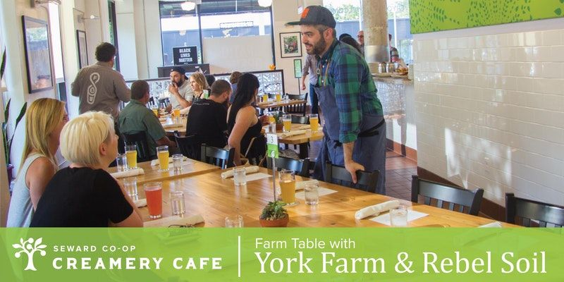 Farm Table Dinner With York Farm Rebel Soil Seward Community Coop - Farm table amery