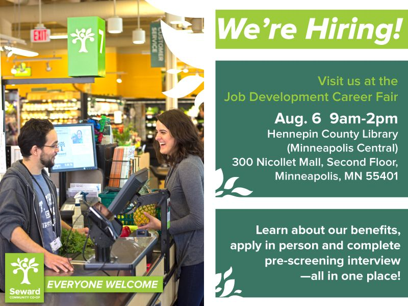 Apply For Open Positions At The Job Fair In Minneapolis Seward