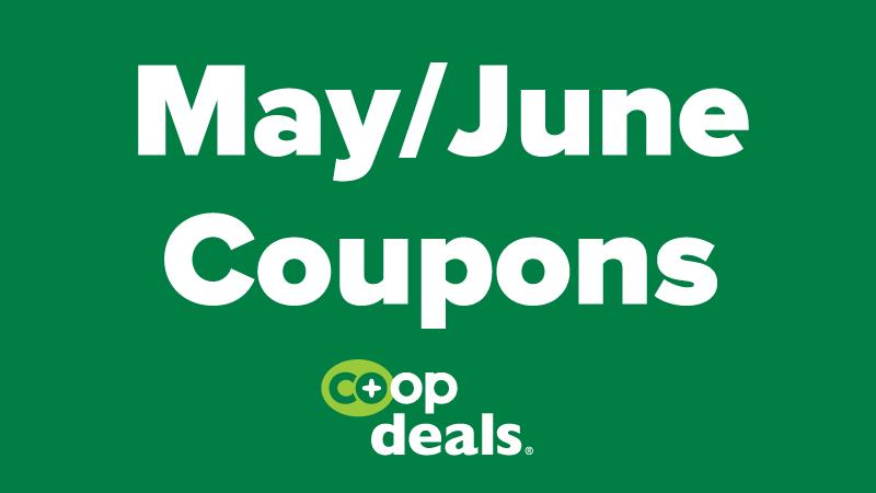 May-June Coupons