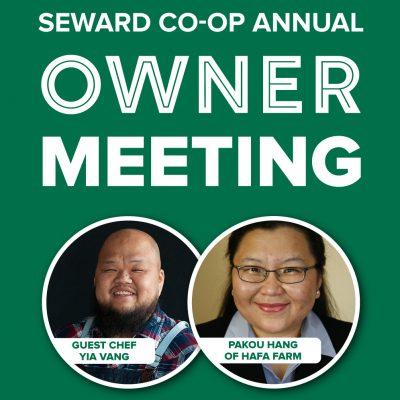 Seward Co-op Annual Owner Meeting