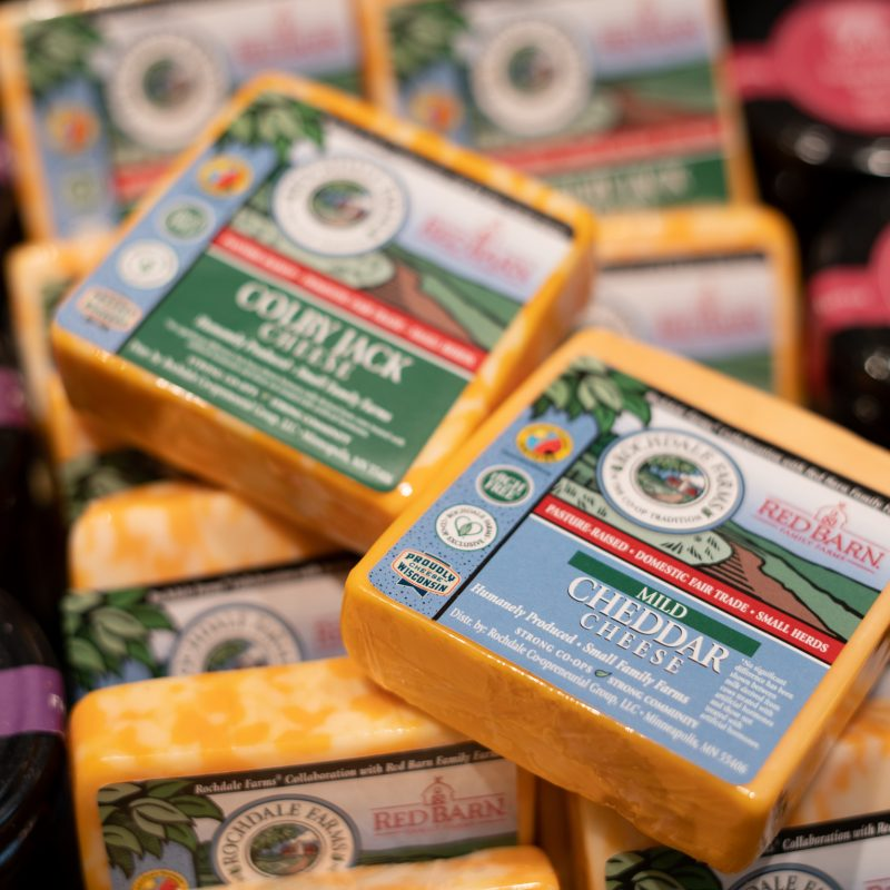 Rochdale Farms & Red Barn Cheese Collaboration
