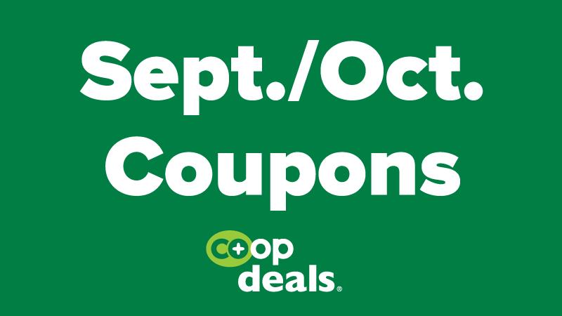 September/October NCG Coupons