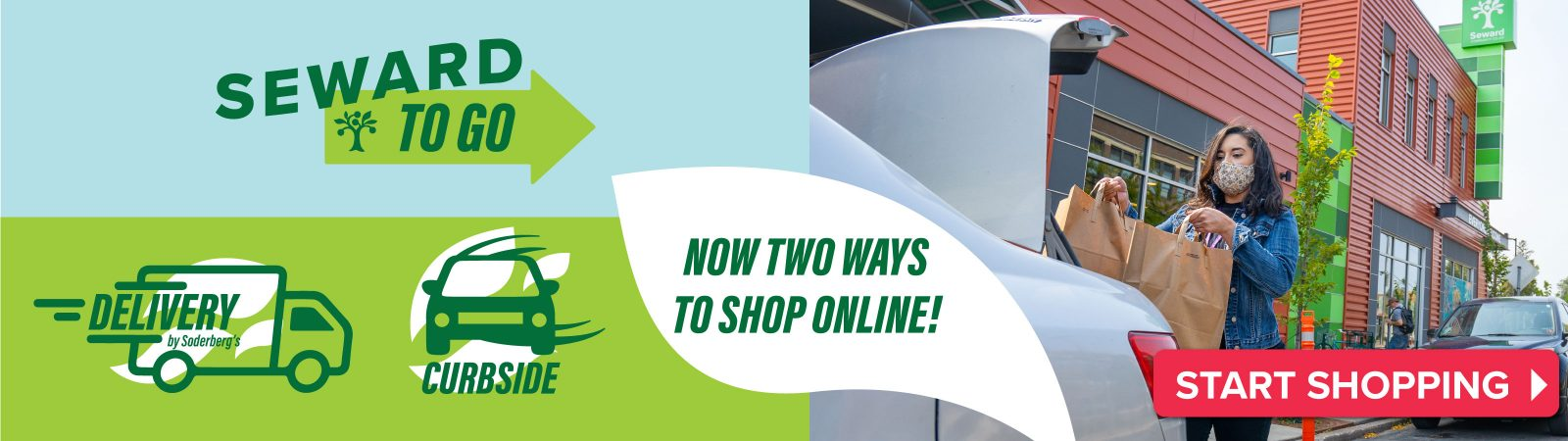 Shop Online with Seward To Go