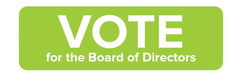 Vote for the Board of Directors